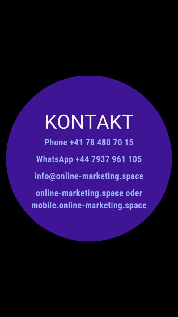 Kontakt - Online Marketing Space